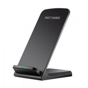 Fast Wireless Charging Stand for iphone X / Samsung Galaxy S8 S7 S6 Edge Note 8 - Black
