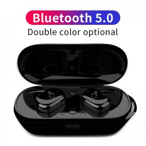 TWS Best Bluetooth Wireless Earbuds for iPhone Xiaomi Huawei With Mic Portable Charging Box