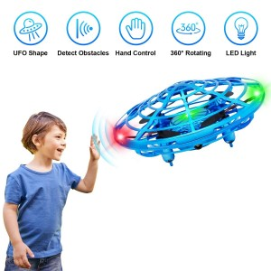 Best Mini Drones for Kids or Adults - Scoot Hands Free UFO Mini Drone Helicopter