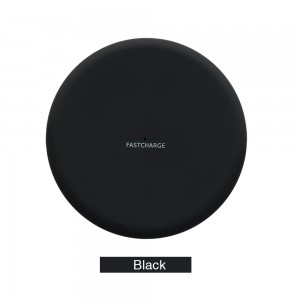 Wireless Charging Pad for Samsung s6 / iphone x - Black