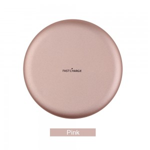 Wireless Charging Pad for Samsung s6 / iphone x - Pink