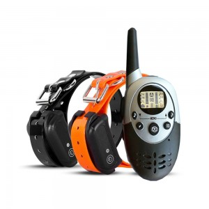 Waterproof Dog Training Collar With Remote Rechargeable Electronic Shock Training Anti Bark