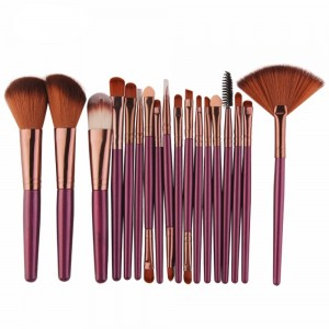 18Pcs Beauty Makeup Brushes Tool Set
