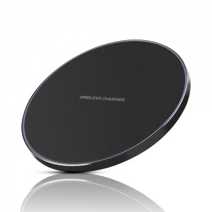Edge lighting Wireless Charging Pad for Samsung s8/s9/s9 Plus/Note 8/7/s7/s7 Edge - Black