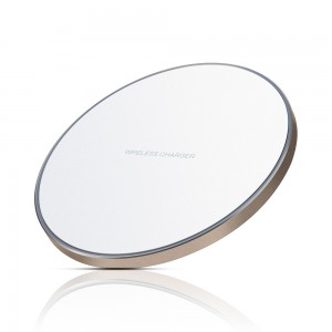 Edge lighting Wireless Charging Pad for Samsung s8/s9/s9 Plus/Note 8/7/s7/s7 Edge - White