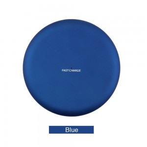 Wireless Charging Pad for Samsung s6 / iphone x - Blue