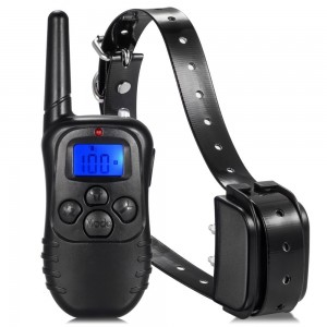 Wireless Electric Dog Fence System - 300M Waterproof Vibration Shock Electric Anti Bark Control