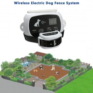 Wireless Electric Dog Fence System - 500M Radius Remote Control for All Size Dogs